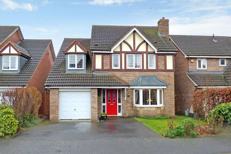 4 Bedrooms Detached House for sale in Bramling Cross Road, Burton-on-Trent