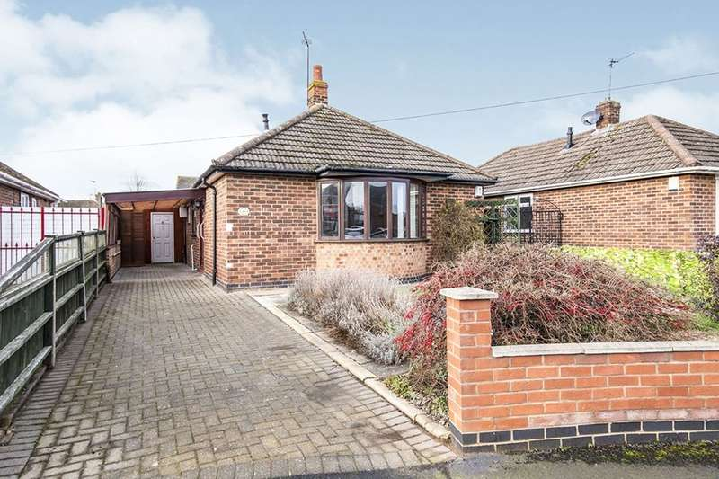 2 Bedrooms Detached Bungalow for sale in Cleveland Road, Loughborough, LE11