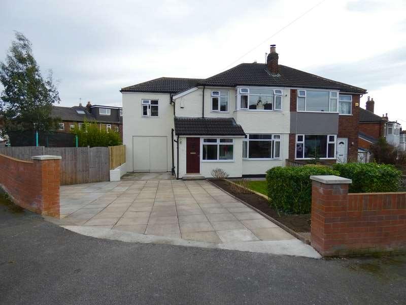 4 Bedrooms Semi Detached House for sale in Vesper Gate Crescent, Leeds, West Yorkshire, LS5