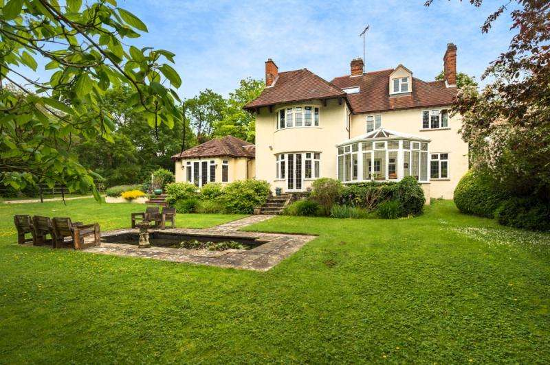 6 Bedrooms Detached House for sale in Noyon, Jack Straws Lane, Headington, Oxford, Oxfordshire