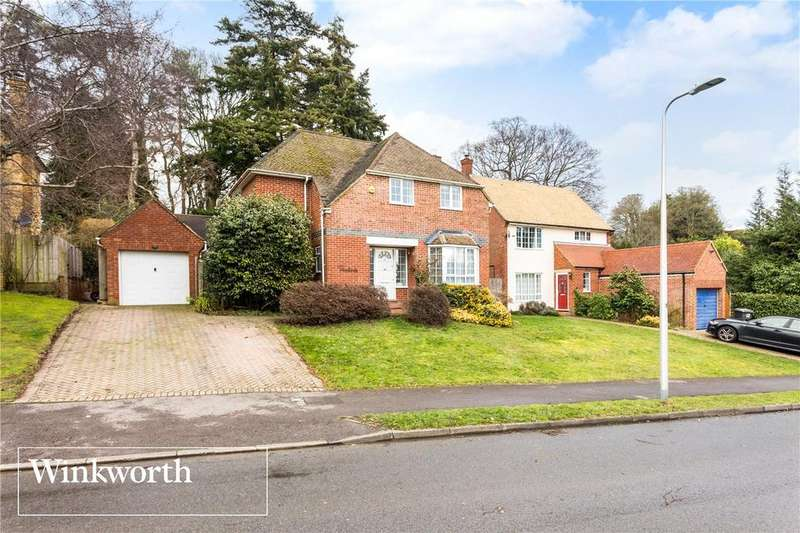 4 Bedrooms Detached House for sale in Normay Rise, Newbury, Berkshire, RG14