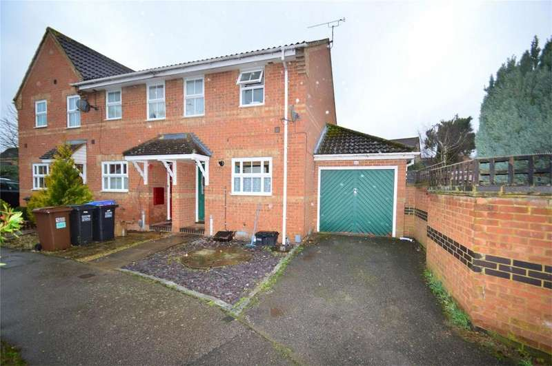 2 Bedrooms End Of Terrace House for sale in Allen Court, HATFIELD, Hertfordshire