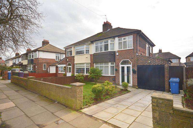 3 Bedrooms Semi Detached House for sale in Bowring Park Road, Childwall