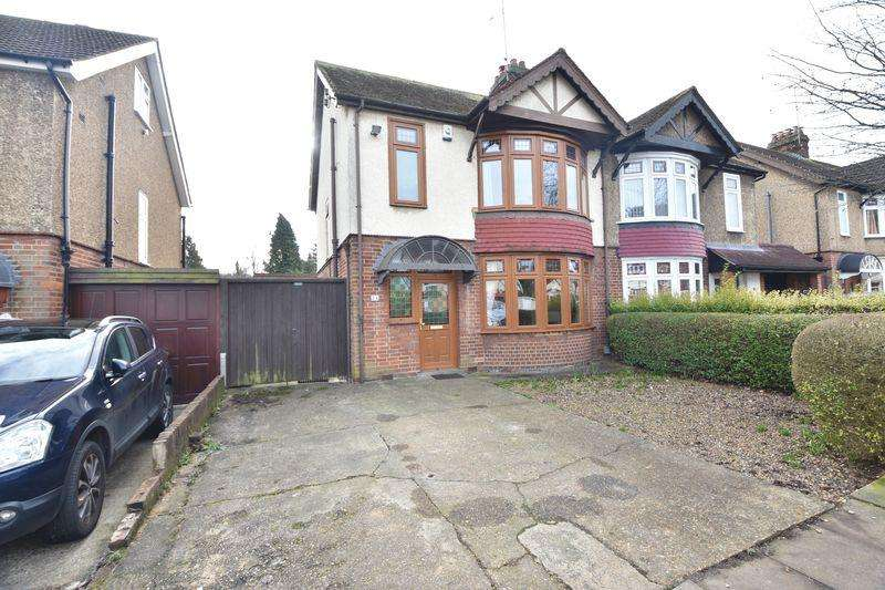 3 Bedrooms Semi Detached House for sale in Cutenhoe Road, Luton