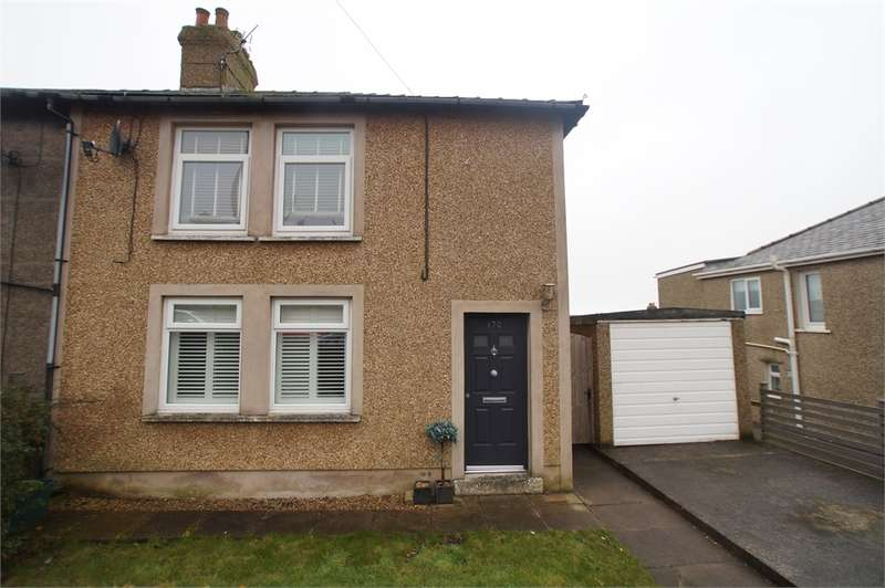 3 Bedrooms Semi Detached House for sale in CA28 9ER High Road, Kells, Whitehaven, Cumbria