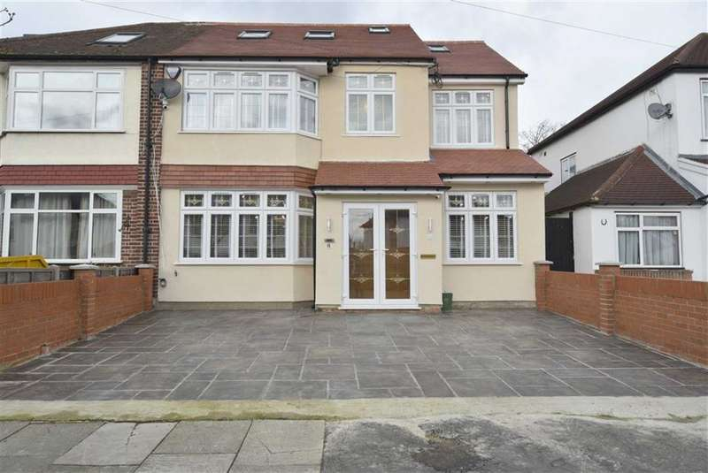 7 Bedrooms Semi Detached House for sale in Shaftesbury Avenue, Southall, Middlesex