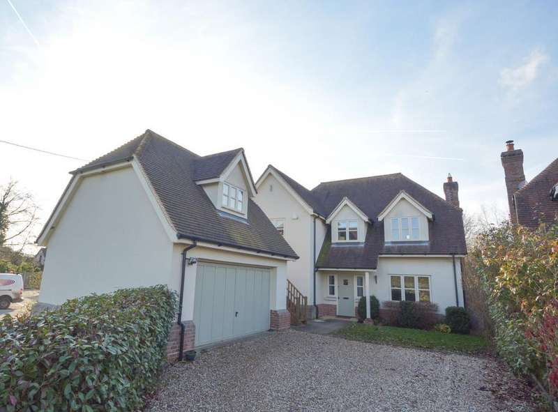 4 Bedrooms Detached House for sale in Rectory Road, Stisted, CM77 8AL