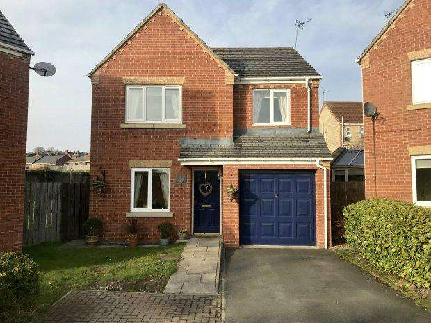 4 Bedrooms Detached House for sale in ESHWOOD VIEW, USHAW MOOR, DURHAM CITY : VILLAGES WEST OF