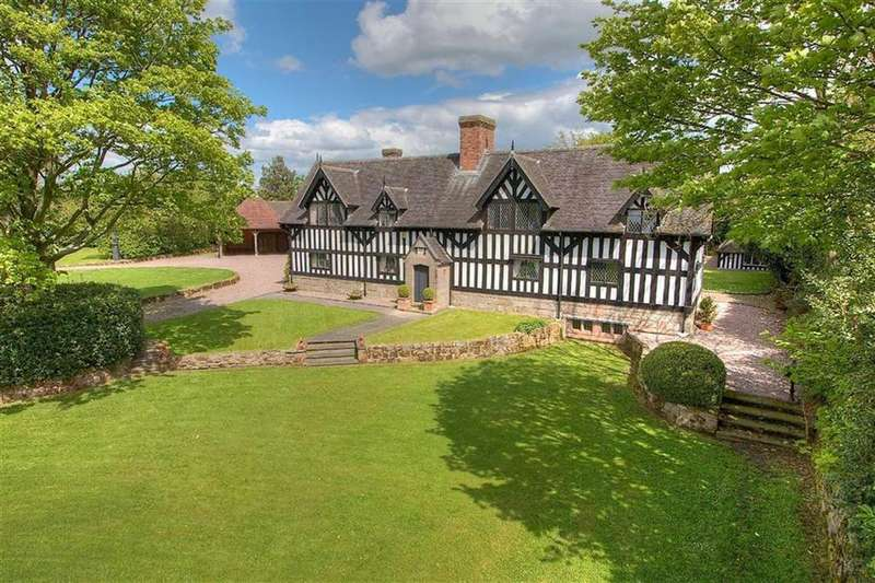 4 Bedrooms Country House Character Property for sale in Smithy Lane, Knighton, Shropshire