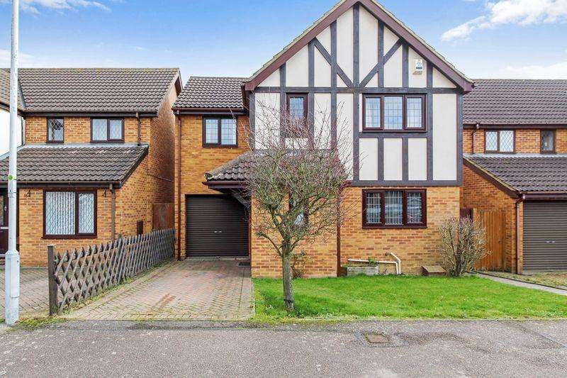 4 Bedrooms Detached House for sale in Ingram Gardens, Luton