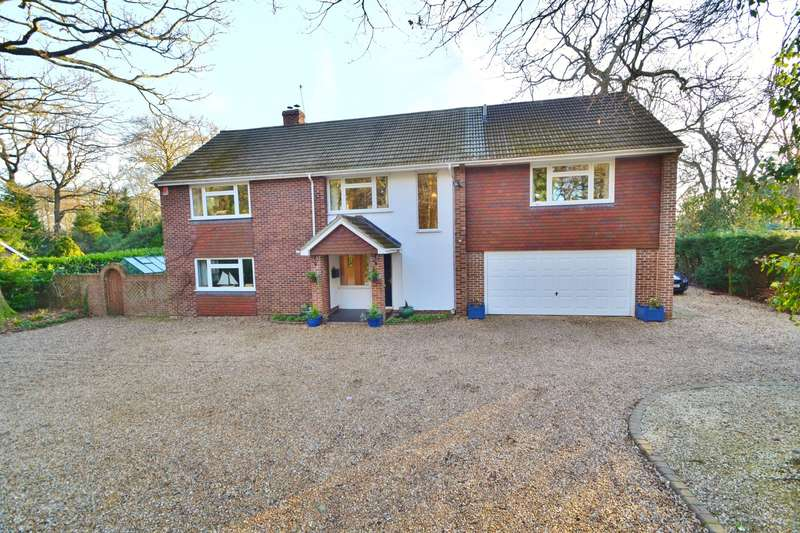 5 Bedrooms Detached House for sale in Hiltingbury