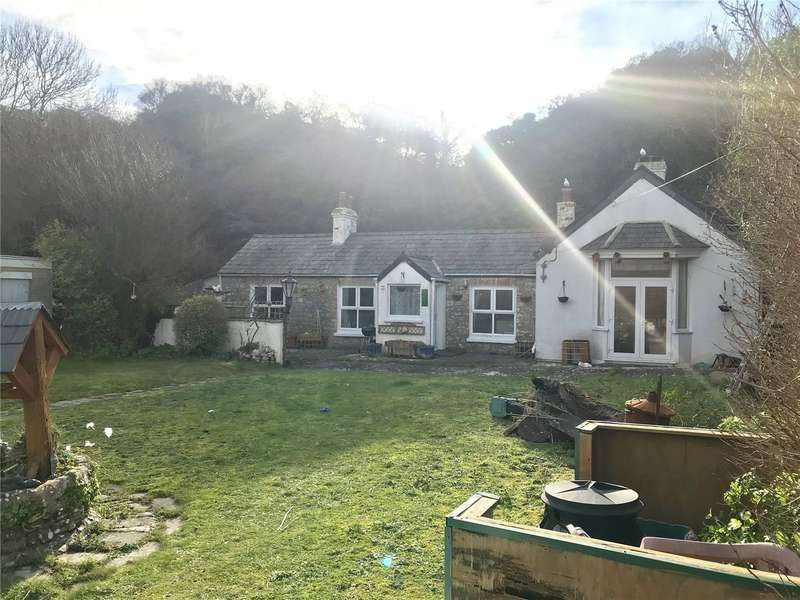 2 Bedrooms Detached Bungalow for sale in Black Rock Cottage, The Burrows, Tenby, Pembrokeshire