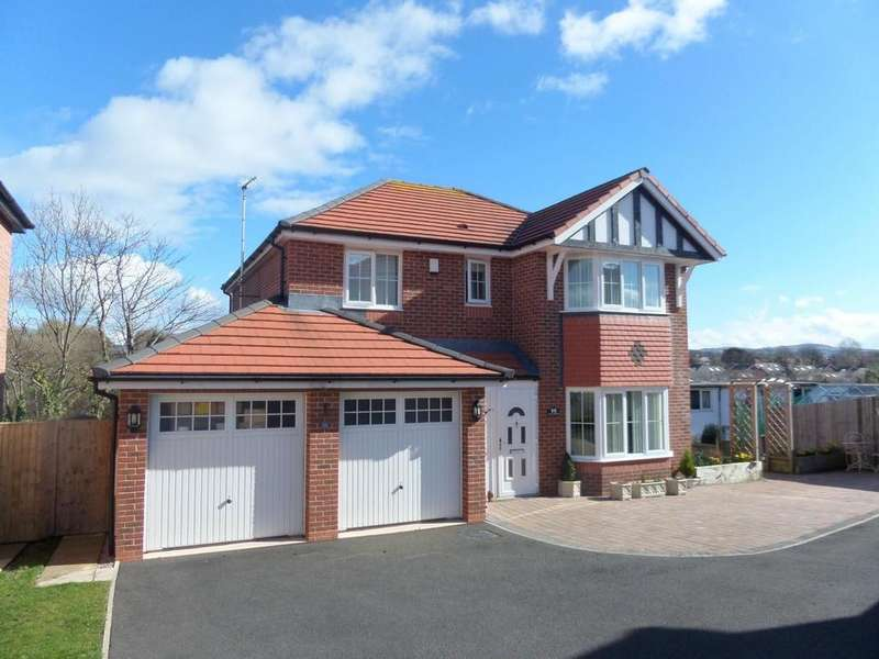 4 Bedrooms Detached House for sale in Clos Belyn, Llandudno Junction