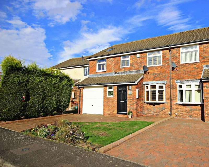 4 Bedrooms Semi Detached House for sale in Melbeck Drive, Ouston, Chester Le Street