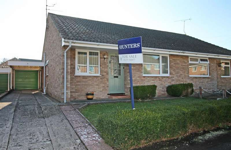 2 Bedrooms Semi Detached Bungalow for sale in Corfe Close, Nailsea, North Somerset, BS48 2QN