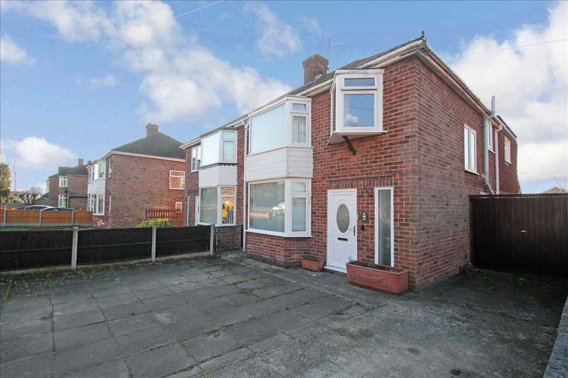 3 Bedrooms Semi Detached House for sale in Brant Road, Lincoln