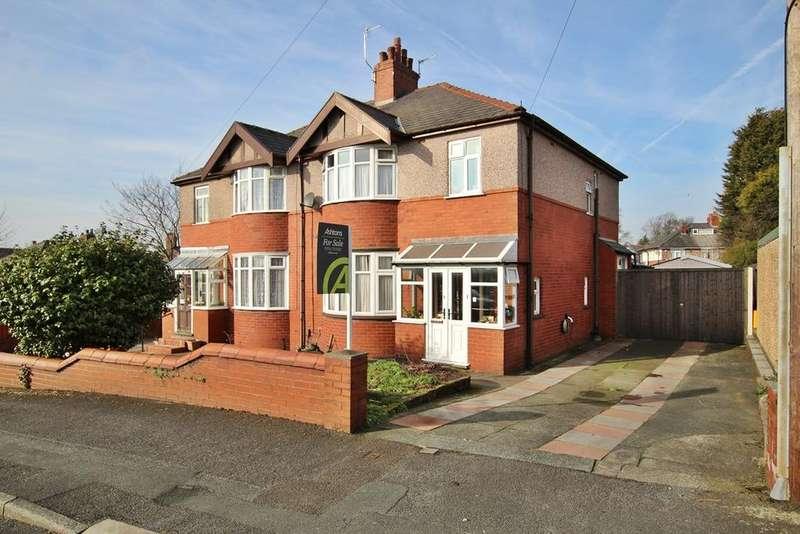 3 Bedrooms Semi Detached House for sale in Beech Avenue, Eccleston Park, Prescot, L34