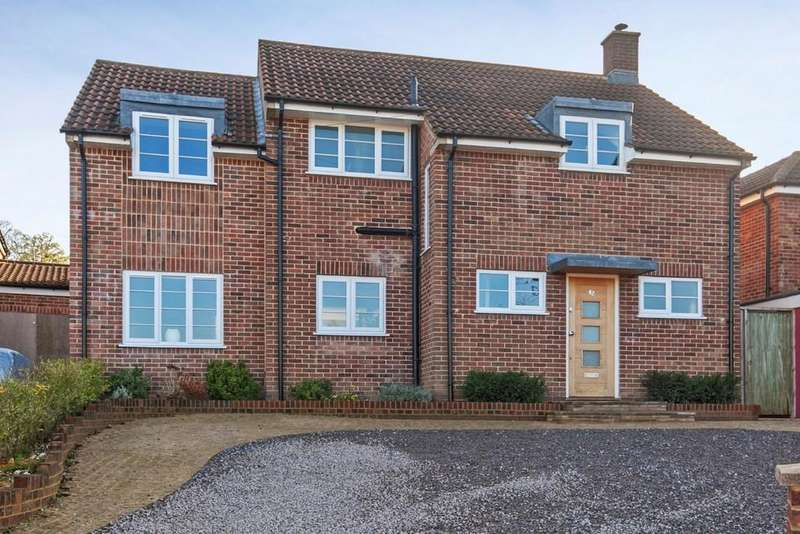 4 Bedrooms Detached House for sale in Lynford Way, Winchester, SO22
