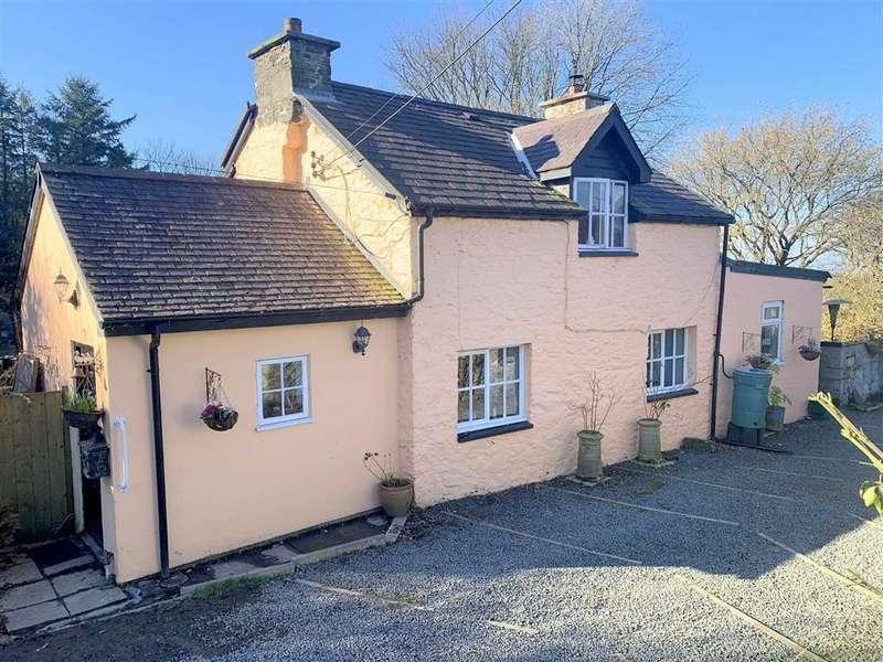 2 Bedrooms Cottage House for sale in Cross Inn, Llanon, Ceredigion