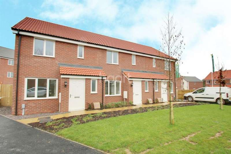 2 Bedrooms Semi Detached House for sale in Fairfax Mews
