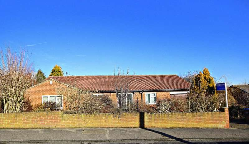 3 Bedrooms Detached Bungalow for sale in Braunespath Estate, New Brancepeth, Durham