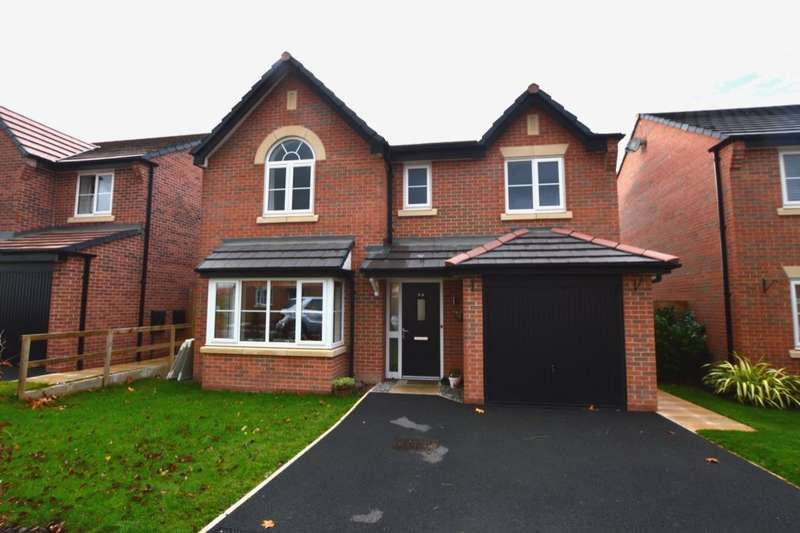 4 Bedrooms Detached House for sale in Clive Way, Middlewich, CW10