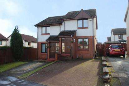 2 Bedrooms Semi Detached House for sale in Bulloch Crescent, Denny