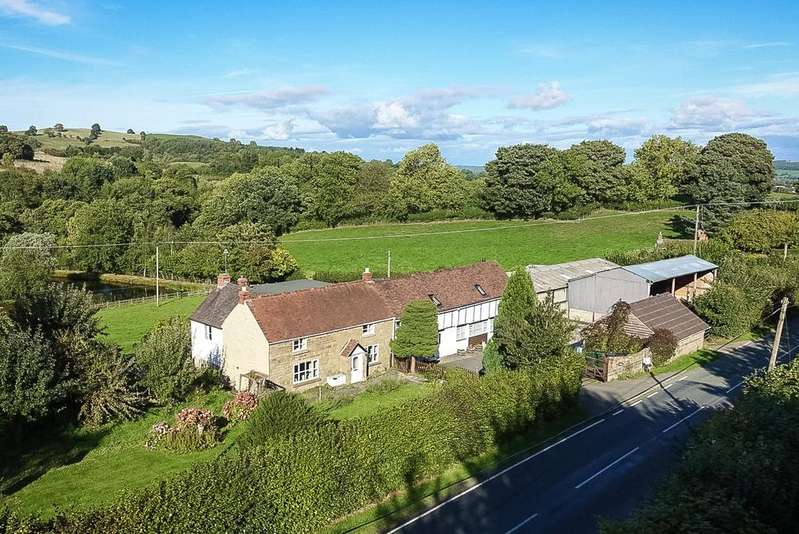 4 Bedrooms Detached House for sale in Wall Bank, Hope Bowdler, Church Stretton