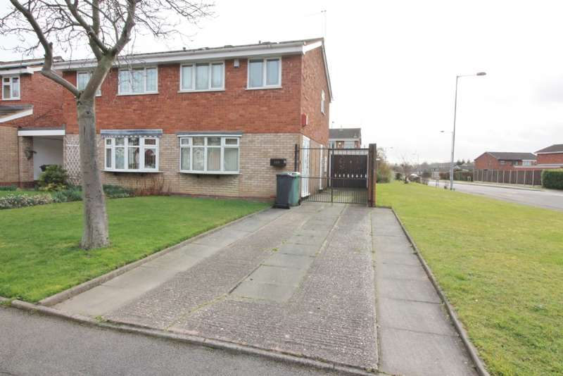 3 Bedrooms Semi Detached House for sale in Western Avenue, Bentley