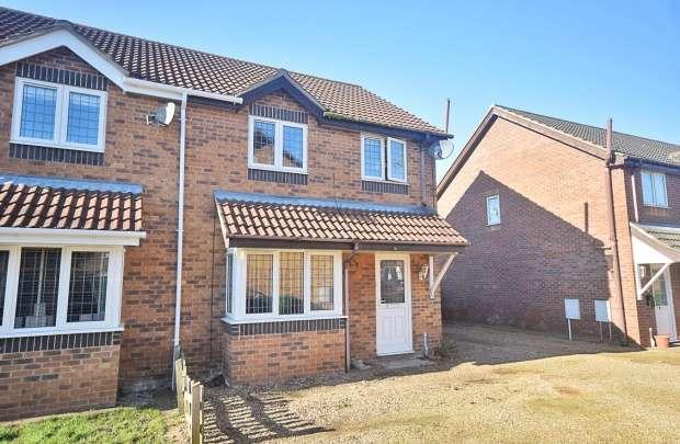 3 Bedrooms Semi Detached House for sale in Poplar Close, Norwich, Norfolk, NR10 3SE