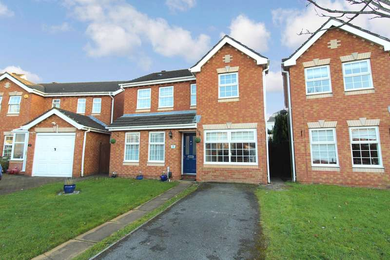 3 Bedrooms Detached House for sale in Clipper Close, Newport, NP19