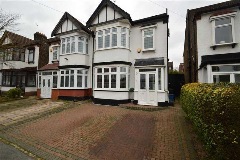 4 Bedrooms Semi Detached House for sale in The Crescent, Ilford, Essex, IG2