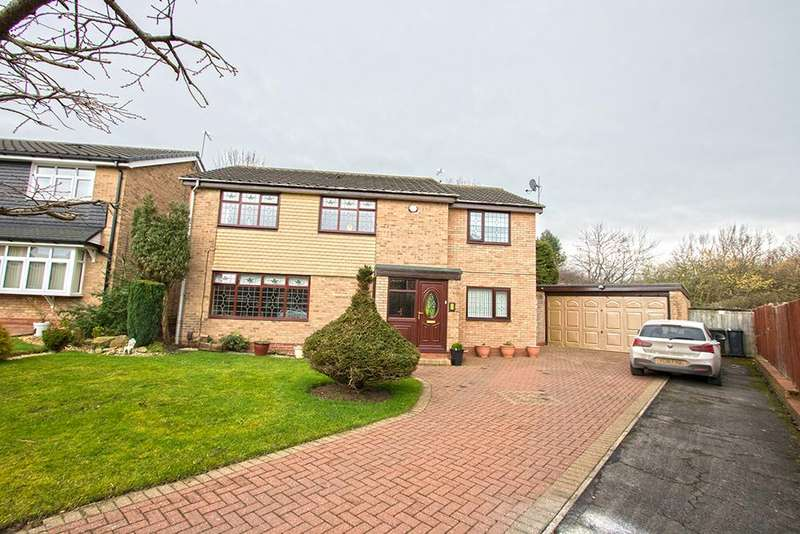 5 Bedrooms Detached House for sale in Aster Close, Marton Manor, Middlesbrough TS7