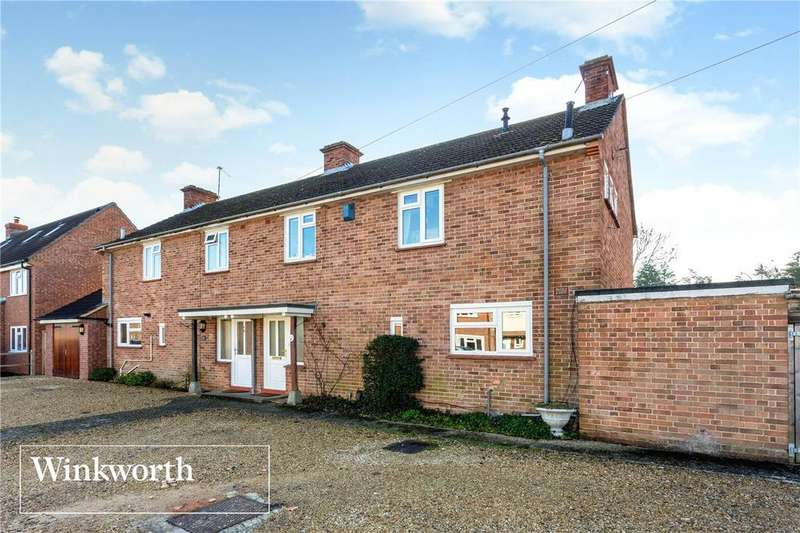 3 Bedrooms Semi Detached House for sale in Almond Avenue, Newbury, Berkshire, RG14