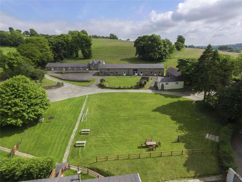 8 Bedrooms Farm Commercial for sale in Castell Howell Holiday Park, Talgerreg, Nr New Quay, Ceredigion, SA44