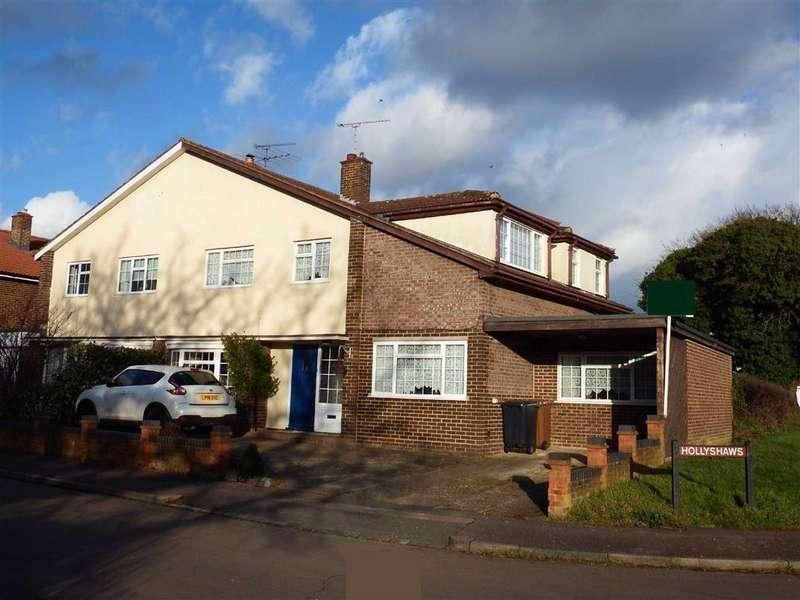 4 Bedrooms Semi Detached House for sale in Hollyshaws, Stevenage, Hertfordshire, SG2