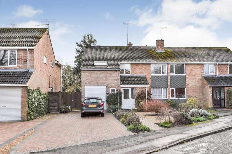 5 Bedrooms Semi Detached House for sale in Holmes Crescent, Wokingham