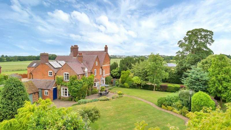 7 Bedrooms Detached House for sale in Bradley, Staffordshire