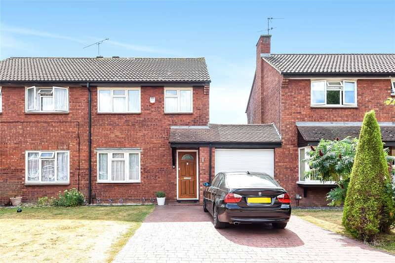 3 Bedrooms Semi Detached House for sale in Easington Drive, Lower Earley, Reading, Berkshire, RG6