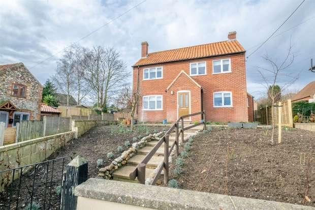 2 Bedrooms Detached House for sale in 15a Wells Road, Little Walsingham