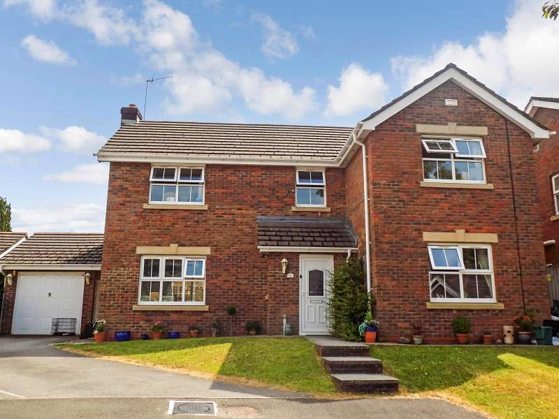 4 Bedrooms Detached House for sale in Dyffryn Woods , Bryncoch, Neath, Neath Port Talbot. SA10 7QA