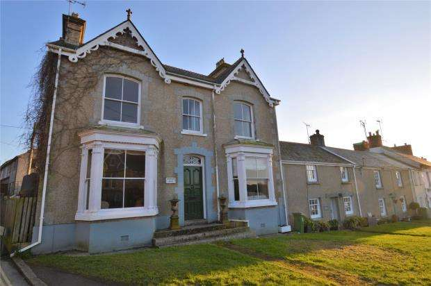 5 Bedrooms End Of Terrace House for sale in Fore Street, Goldsithney, Penzance, Cornwall