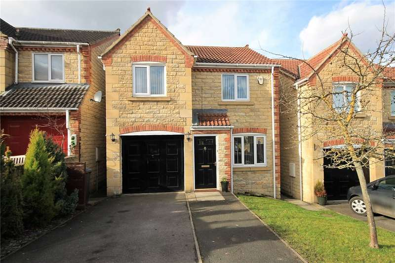 3 Bedrooms Detached House for sale in Oakwell Court, Hamsterley, Newcastle Upon Tyne, NE17