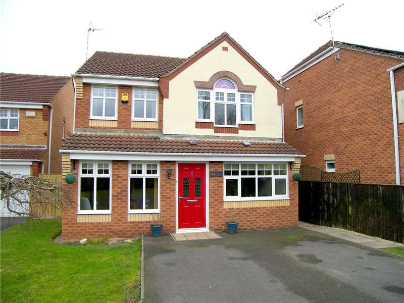 4 Bedrooms Detached House for sale in Rangewood Road, South Normanton, Alfreton, Derbyshire, DE55