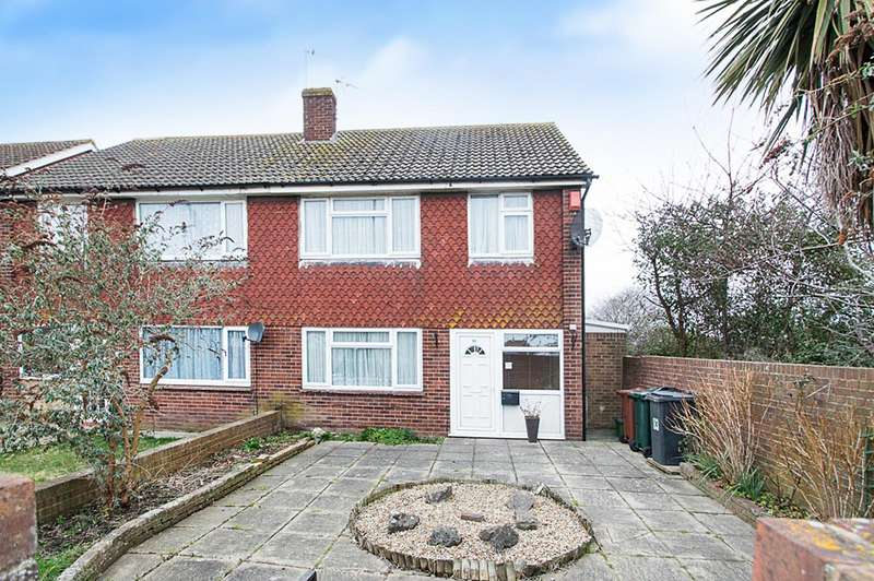 3 Bedrooms Semi Detached House for sale in St. Anthonys Avenue, Eastbourne