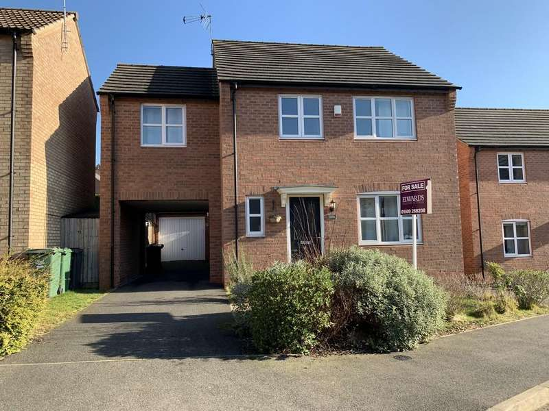 4 Bedrooms Detached House for sale in Maxwell Drive, Loughborough