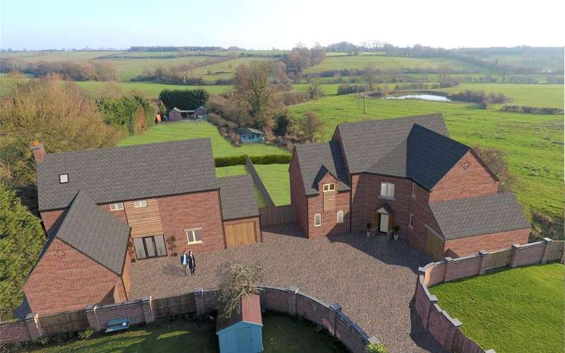 4 Bedrooms Detached House for sale in Butchers Lane, Seagrave, Leicestershire