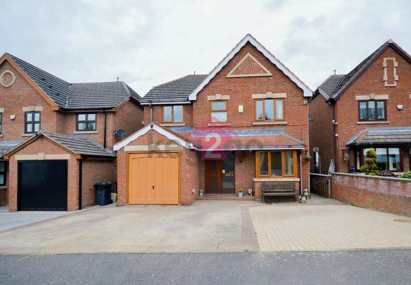 4 Bedrooms Detached House for sale in Moor Valley Close, Mosborough, Sheffield, S20