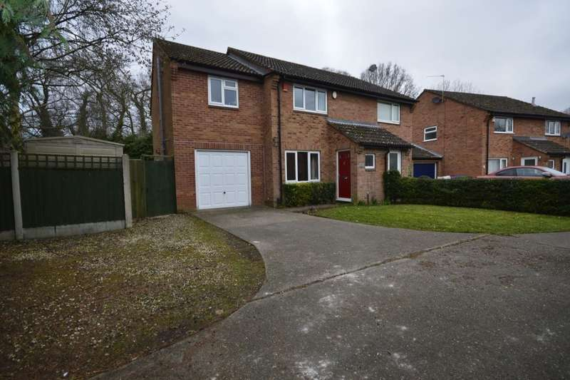 3 Bedrooms Semi Detached House for sale in Forest Close, Shawbirch, Telford, TF5