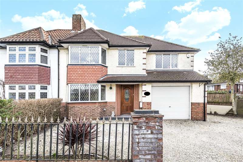 4 Bedrooms Semi Detached House for sale in Hawtrey Avenue, Northolt, Middlesex, UB5